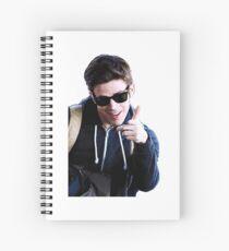 Grant Gustin Spiral Notebook