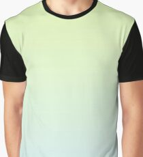 Shades of light blue and light green Graphic T-Shirt