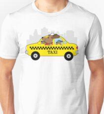 New York Taxi Dog Unisex T-Shirt