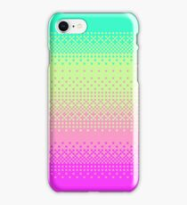 Bright 8bit Pixelart Fade Cute Nerdy iPhone Case/Skin