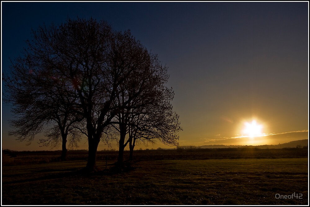 Sunrise at Les Marais by Oneof42