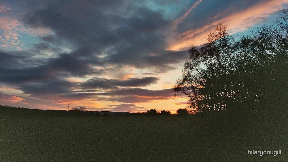 untouched weird sunset by hilarydougill