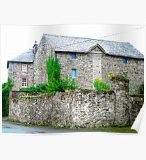 Stone House in Ramelton, Donegal, Ireland Poster