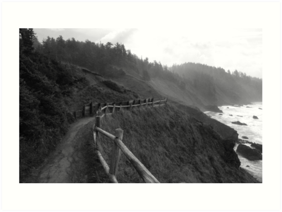 The Path by the Sea by Terry Shumaker