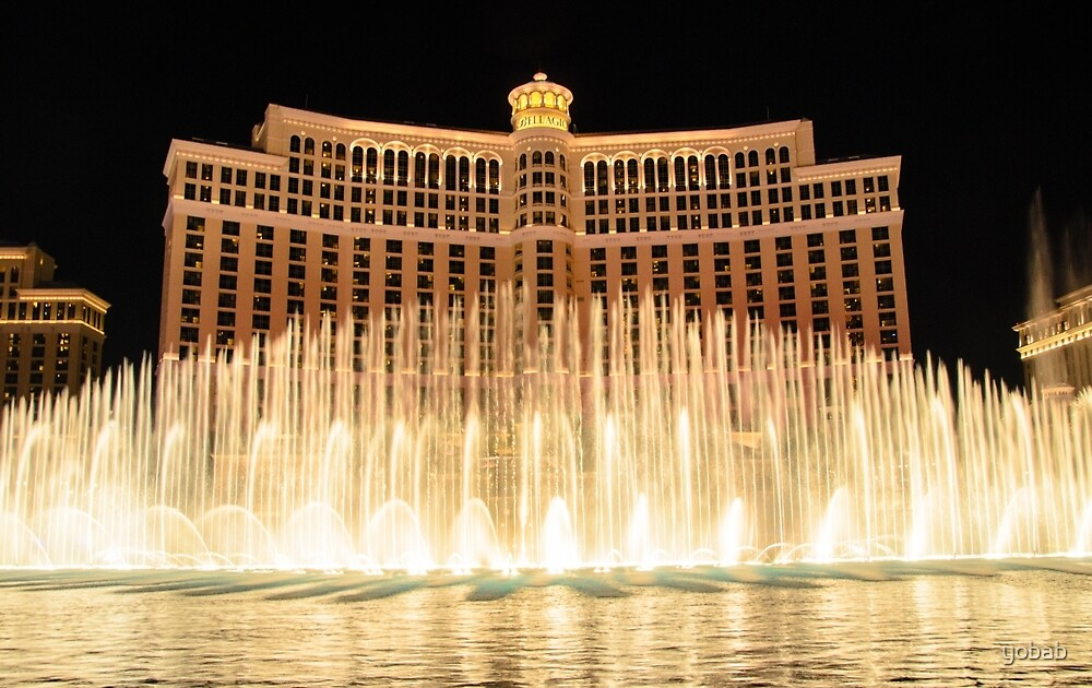 The fountains at Bellagio by yobab