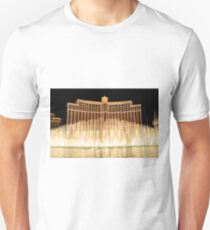 The fountains at Bellagio Unisex T-Shirt