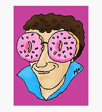 Donut-Colored Glasses. With Sprinkles, of Course. Photographic Print