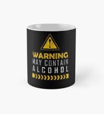 Warning! May contain alcohol Classic Mug