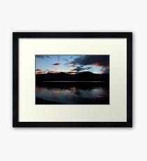 Sunset over Derwent Water Keswick Framed Print