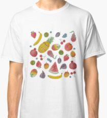 Watercolour Fruit Classic T-Shirt