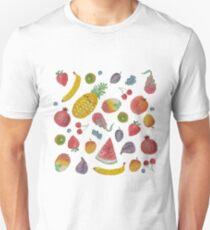 Watercolour Fruit Unisex T-Shirt