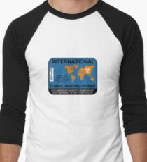 International Zombie Hunting Permit T-Shirt