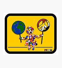 I want world peace Photographic Print