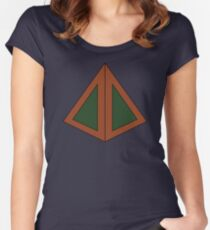 Legion Inspired Geometric Women's Fitted Scoop T-Shirt