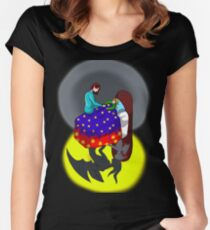 As Above So Below Women's Fitted Scoop T-Shirt