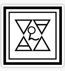 nameless ghouls symbols. ghost symbols sticker. $2.75. nameless ghouls