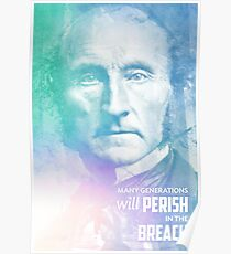 John Stuart Mill quote Poster