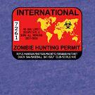 International Zombie Hunting Permit 2017/2018 by zorpzorp
