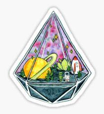 Space Love Sticker