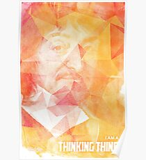 Rene Descartes quote Poster