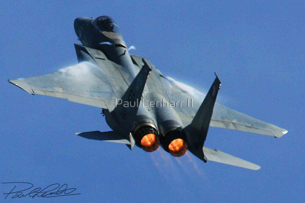 F-15 Going Vertical by Paul Lenharr II
