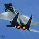 F-15 Going Vertical by Paul Lenharr II
