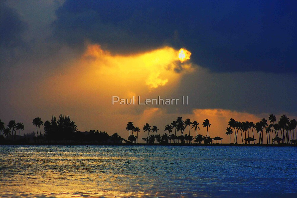 San Juan Sunset by Paul Lenharr II