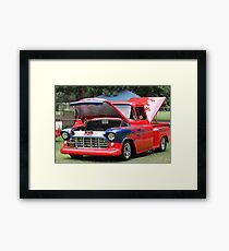 1957 Chevy Pickup - Classic Cruiser Framed Print
