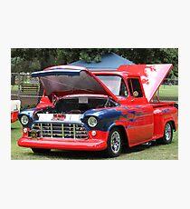 1957 Chevy Pickup - Classic Cruiser Photographic Print