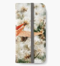 Nesting Sparrow - Origami Sparrow iPhone Wallet/Case/Skin