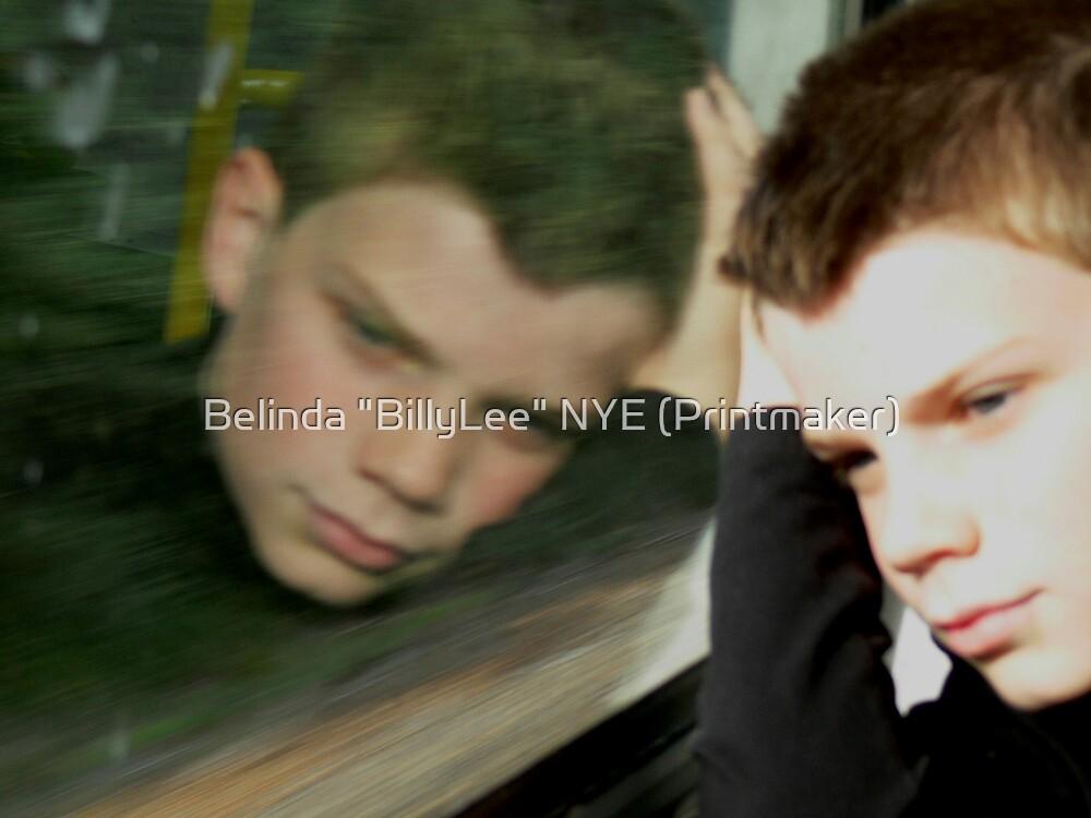 "Please God will we ever get there by Belinda ""BillyLee"" NYE (Printmaker)"