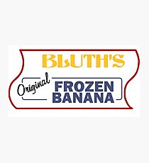 Bluth's Frozen Bananas Photographic Print