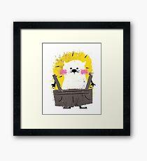 Misfits Hedgehog Framed Print