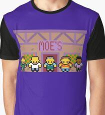 Simpsons Moes Tavern Graphic T-Shirt