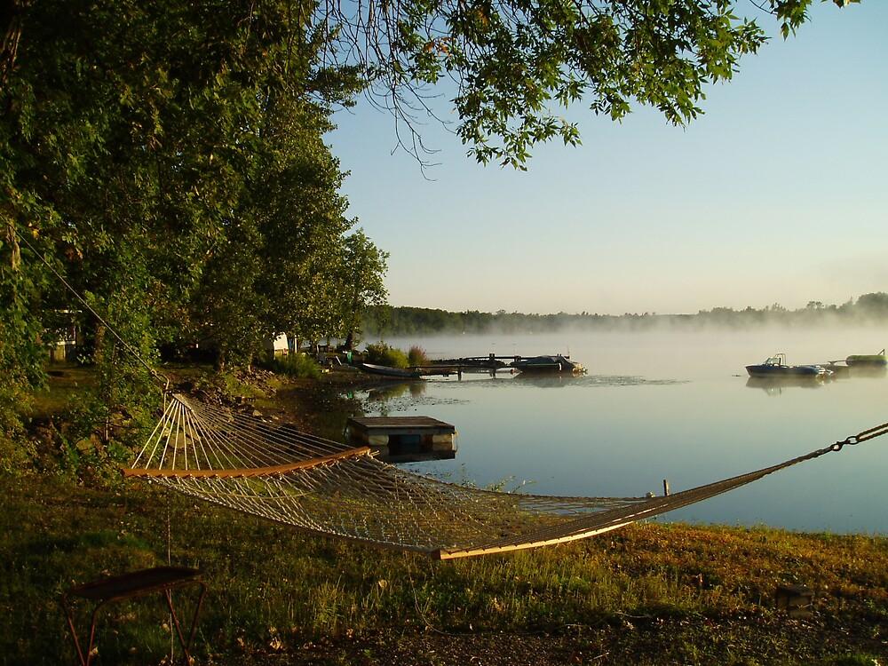 Peaceful Morning by Deborah Stewart