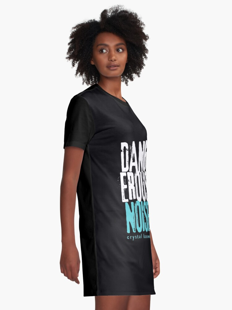Dangerous Noise Band Apparel (with Author) | Graphic T-Shirt Dress