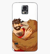 BEAR KISS - NO BACKGROUND Case/Skin for Samsung Galaxy
