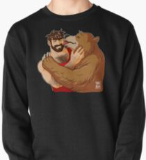BEAR KISS - NO BACKGROUND Pullover