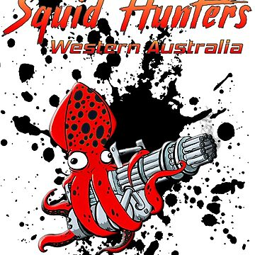 Ink Splash Hunters by squidhunterwa