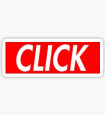 Click - Red Sticker