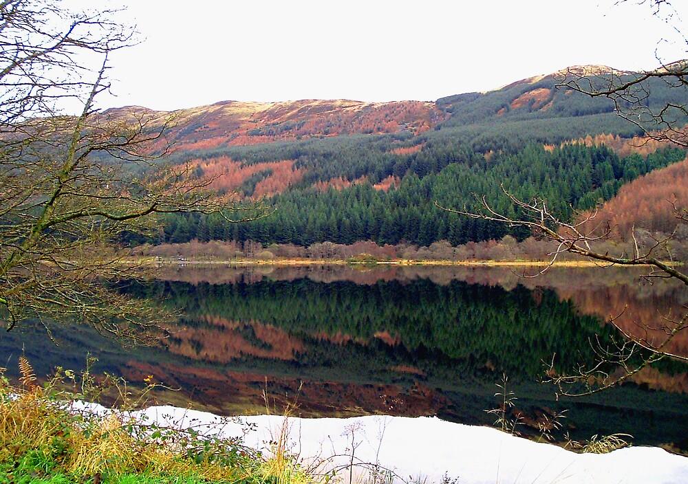 Loch Lubnaig in Autumn by Puffling