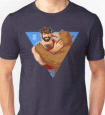 BEAR KISS - TRIANGLE Unisex T-Shirt