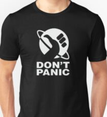 Hitchhikers Guide to the Galaxy  Don't Panic Unisex T-Shirt