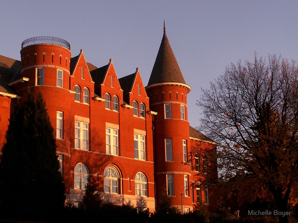 Thompson Hall by Michelle Boyer