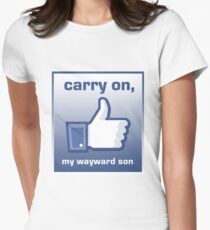 Carry On Women's Fitted T-Shirt