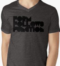 F F F Men's V-Neck T-Shirt