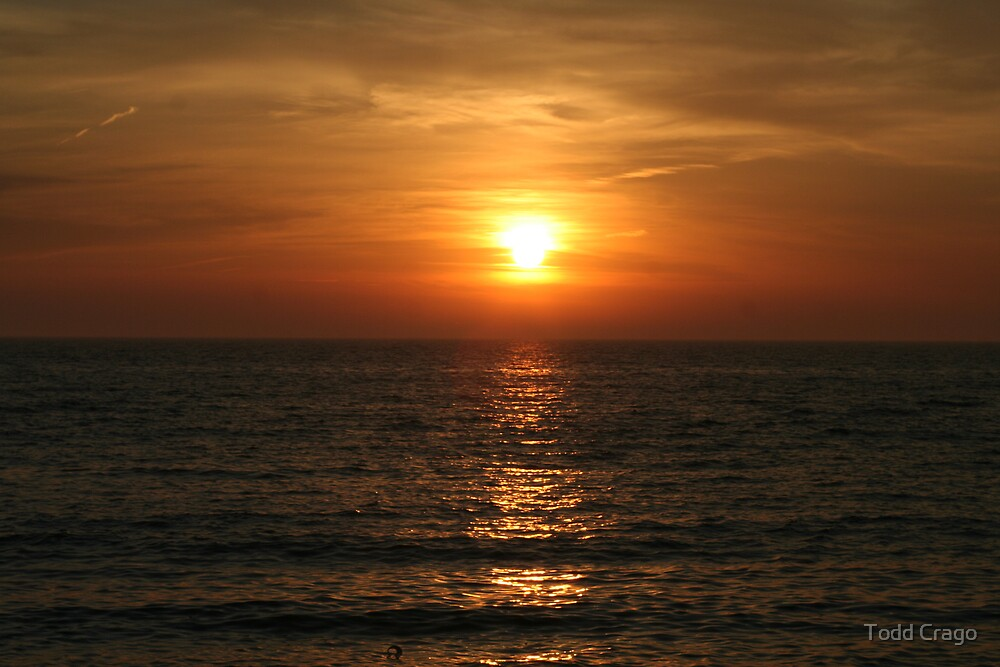 Lake Erie Sunset by Todd Crago