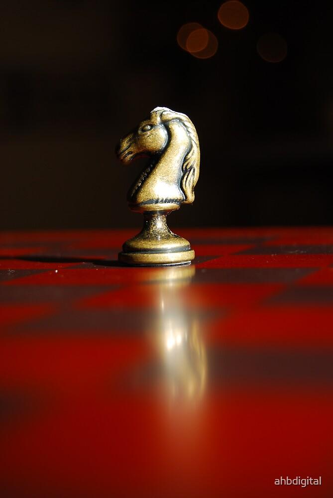 Winning Piece on Chess by ahbdigital