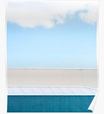 5 layer sky Poster