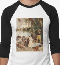 Georges Jules Victor Clairin - The Spanish Dancers Men's Baseball ¾ T-Shirt